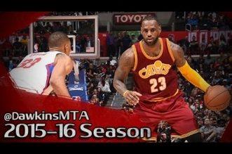 Les highlights de LeBron James face aux Clippers: 27 points
