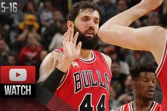 Les highlights de Nikola Mirotic face aux pacers: 28 points et 10 rebonds