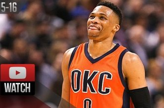 Les highlights de Russell Westbrook (triple-double) et Kevin Durant (34 pts, 8 rbds, 8 asts)