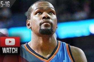 Les highlights de Westbrook (triple-double), Durant (27 pts, 10 rbds)etCousins (35 pts, 12 rbds)