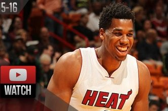 Les highlights d'Hassan Whiteside (26 pts, 12 rebs, 5 ctrs) contre Orlando