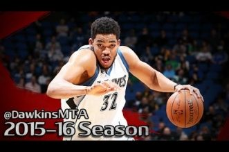 Les highlights du duel à distance Karl-Anthony Towns (27 pts, 10 rbds) – Devin Booker (30 pts)