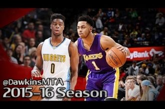 Les highlights du duel Emmanuel Mudiay (22 pts) – D'Angelo Russell (24 pts)