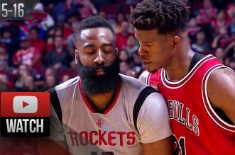Les highlights du duel James Harden (36 pts, 8 asts) – Jimmy Butler (24 pts)