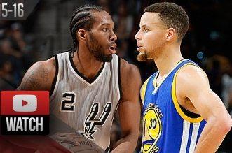Les highlights du «duel» Kawhi Leonard – Stephen Curry