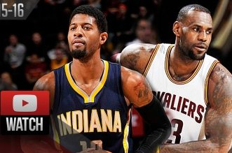 Les highlights du duel LeBron James (33 pts) – Paul George (23 pts)