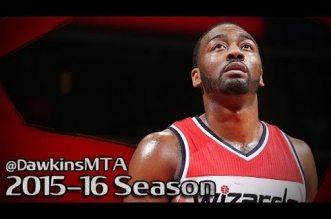 Les highlights du triple-double de John Wall face aux Bulls