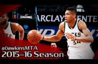Les highlights du triple-double (28 pts, 11 rebs, 14 pds) de Giannis Antetokounmpo