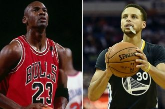 michael Jordan et StephenCurry