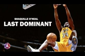 Mix: Shaquille O'Neal – Last Dominant
