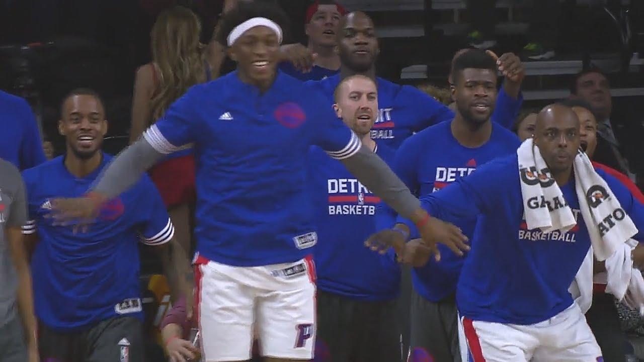 Vidéo: le game winner d'Andre Drummond face aux Bucks