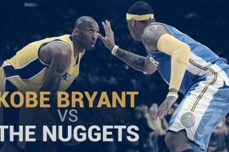 Vidéo: les meilleurs moments de Kobe Bryant contre Denver