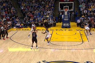 Vidéo: Warriors et Blazers battent le record de 3-points dans un match !