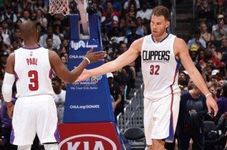 Chris Paul et Blake Griffin