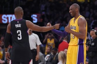 Chris Paul et Kobe Bryant