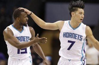 Jeremy Lin et Kemba Walker