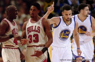 Jordan-Pippen-Curry-Thompson