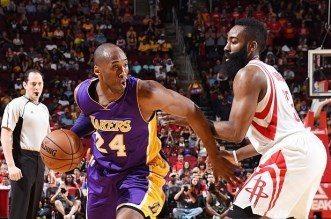 Kobe Bryant et James harden