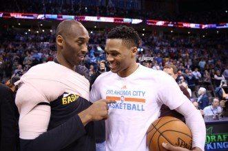 Kobe Bryant et Russell Westbrook
