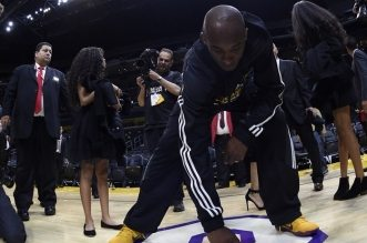 Kobe Bryant parquet
