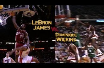 Dunk Mix: LeBron James vs Dominique Wilkins