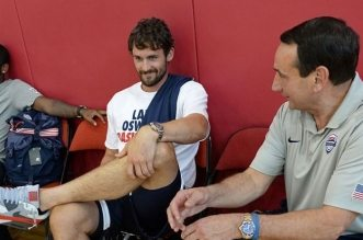 kevin love coach k team usa