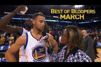 Le bêtisier du mois de mars en NBA