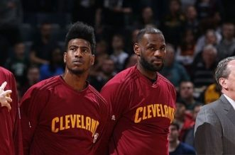 lebron james iman shumpert kevin love