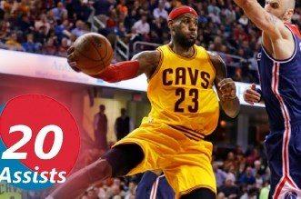 Les 20 plus belles passes en carrière de LeBron James