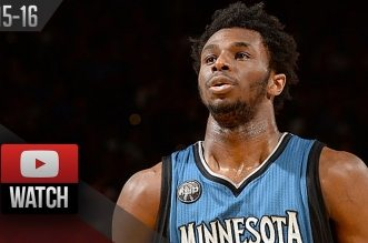 Les highlights d'Andrew Wiggins face aux Warriors: 32 points