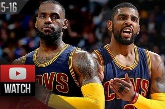 Les highlights de LeBron James et Kyrie Irving lors du premier tour face aux Pistons