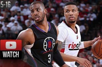 Les highlights du duel Damian Lillard (32 pts) Chris Paul (26 pts)