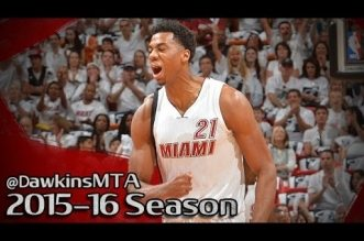 Les highlights du duel Hassan Whiteside (17 pts à 8/8) – Al Jefferson (25 pts)