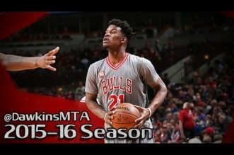Les highlights du triple-double de Jimmy Butler: 28 pts, 17 rbds et 12 asts