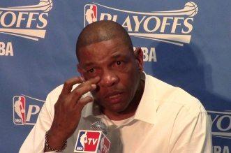 Les larmes de Doc Rivers avant le match 5 perdu par les Clippers