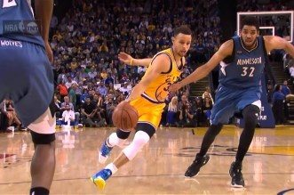 Top 10 passes de la semaine: Doublé pour Stephen Curry; Le petit pont pour Goran Dragic