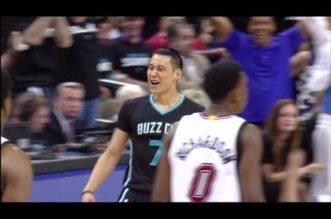 Vidéo: le 18-0 des Hornets face au Heat