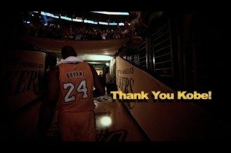 Vidéo:Thank You Kobe!