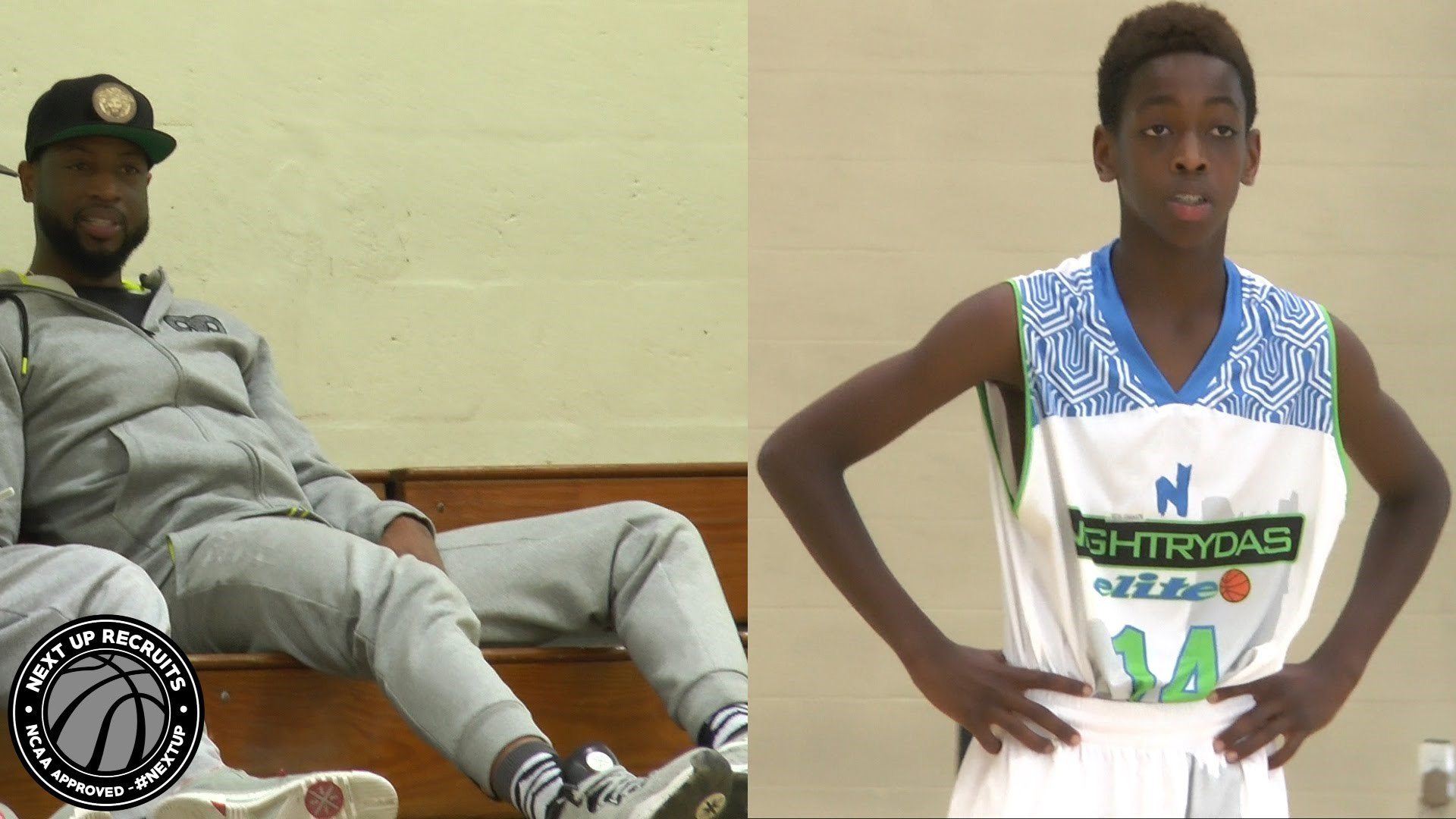 Vidéo: Zaire Wade, 14 ans, continue d'impressionner