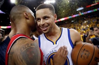 Damian Lillard et Stephen Curry