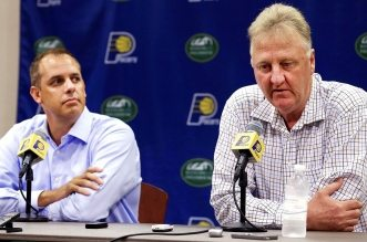 Frank Vogel et Larry Bird