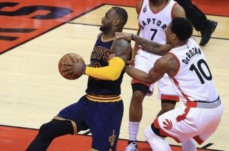 LeBron James et DeMar DeRozan