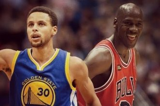 Michael Jordan et Stephen Curry