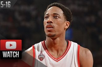 Les highlights de DeMar DeRozan (32 pts) et Kyle Lowry (20 pts)