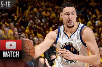 Les highlights de Klay Thompson (27 pts) et Draymond Green (17 pts 14 rbds, 7 asts)