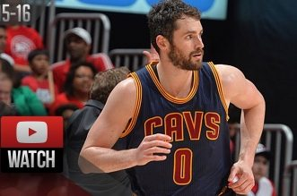 Les highlights de LeBron James (21 pts, 9 asts), Kevin Love (27 pts) et Kyrie Irving (21 pts, 8 asts)