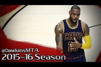 Les highlights de LeBron James (29 pts) et Kyrie Irving (26 pts)