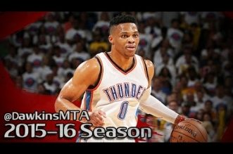 Les highlights de Russell Westbrook (36 pts, 11 rbds, 11 asts) et Kevin Durant (26 pts)