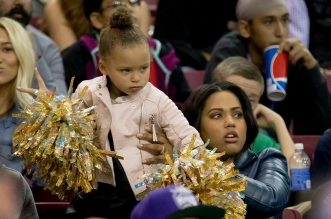 Ayesha Curry et Riley Curry