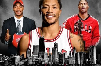 Derrick Rose Bulls Chicago